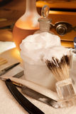 Jabón de afeitar Fotos de archivo libres de regalías
