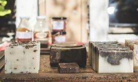 Jabón hecho a mano Fotografía de archivo