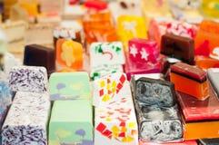 Jabón hecho a mano Fotografía de archivo libre de regalías