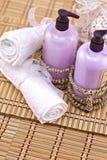 Jabones de baño Foto de archivo libre de regalías