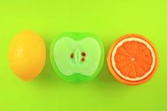 Jabones de la fruta foto de archivo libre de regalías