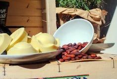 Jabones del cacao Foto de archivo libre de regalías