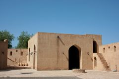 Jabreen castle Royalty Free Stock Photography