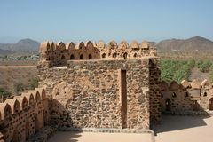 Jabreen castle Royalty Free Stock Image