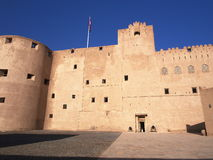 Jabreen Castle. Ad Dakhiliyah region, Oman Royalty Free Stock Photography