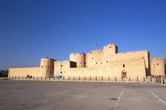 Jabreen Castle. Morning view on Jabreen Castle, Oman Royalty Free Stock Photography