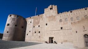 Jabreen. Castle, Oman, Arabic Peninsula Royalty Free Stock Image