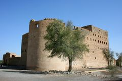 Jabrin Castle, Oman Stock Image