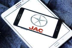JAC Motors-embleem royalty-vrije stock fotografie