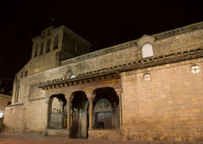 Jaca Cathedral. One of the oldest romanesque cathedrals in Spain Royalty Free Stock Photography