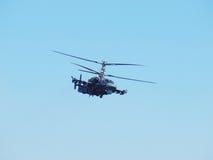 Jacaré do helicóptero Ka-52 Imagem de Stock Royalty Free