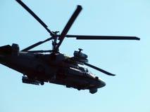 Jacaré do helicóptero Ka-52 Imagem de Stock
