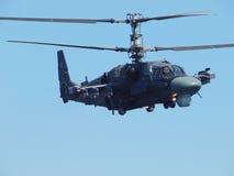 Jacaré do helicóptero Ka-52 Imagens de Stock