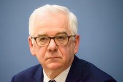 Jacek Czaputowicz, ο ξένος Υπουργός της Πολωνίας στοκ εικόνες