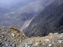 Jachal berg Arkivbilder