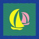 jachtów Obrazy Royalty Free