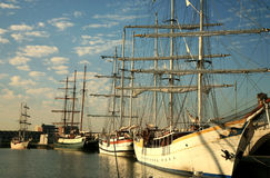 jachtów Fotografia Royalty Free