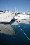 jachtów fotografia stock