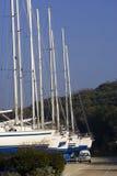 jachtów suchych doków Fotografia Royalty Free
