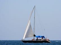 jacht żeglując Obrazy Royalty Free