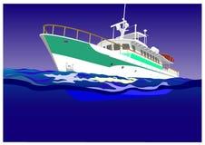 jacht royalty ilustracja