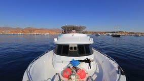 Jacht stock video