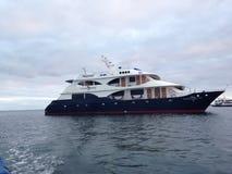 Jacht in de Galapagos Royalty-vrije Stock Foto's