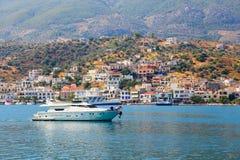 Jacht - Grecja Zdjęcie Royalty Free