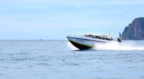 Jacht i morze Zdjęcie Royalty Free