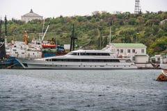 Jacht klasy Złota głowa zdjęcie royalty free