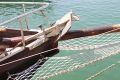 Jacht kotwica Zdjęcie Royalty Free