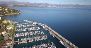 Jacht Marina Icici stock videobeelden