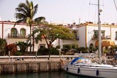 jacht mogan de porto obrazy royalty free
