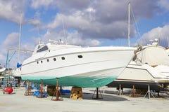 Jacht naprawy Obraz Royalty Free