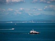 Jacht op het Adriatische overzees Royalty-vrije Stock Afbeeldingen