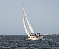 Jacht op Mar Menor Stock Foto's