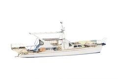 Jacht przy cumowaniem Obrazy Stock