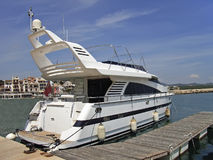 jacht silnikowe Obrazy Royalty Free