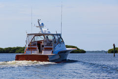 Jacht - Vissersboot Royalty-vrije Stock Foto's