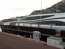 Jacht w monte, Carlo -, Monaco Luksusowy styl ?ycia Poj?cie motywacja zdjęcie stock
