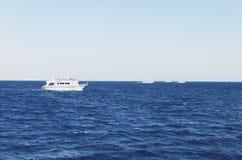 Jacht w morzu Obraz Royalty Free