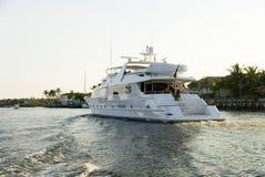 jacht w toku fotografia stock
