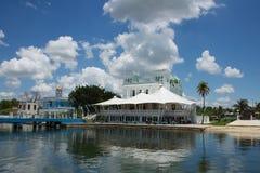 Jachtclub in Cienfuegos Royalty-vrije Stock Fotografie