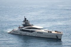 Jachten in de haven in Monaco Royalty-vrije Stock Fotografie
