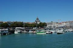 Jachthäfen in Frankreich Stockfotos