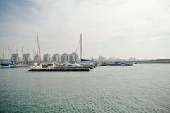 Jachthafen. Lizenzfreie Stockfotos