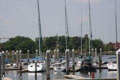 Jachthafen Lizenzfreies Stockfoto
