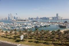 Jachthafen in Abu Dhabi, UAE Lizenzfreie Stockbilder