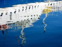 Jachthafen in Barcelona Stockfotografie