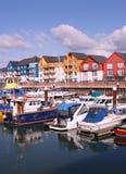 Jachthafen bei Exmouth Lizenzfreies Stockbild